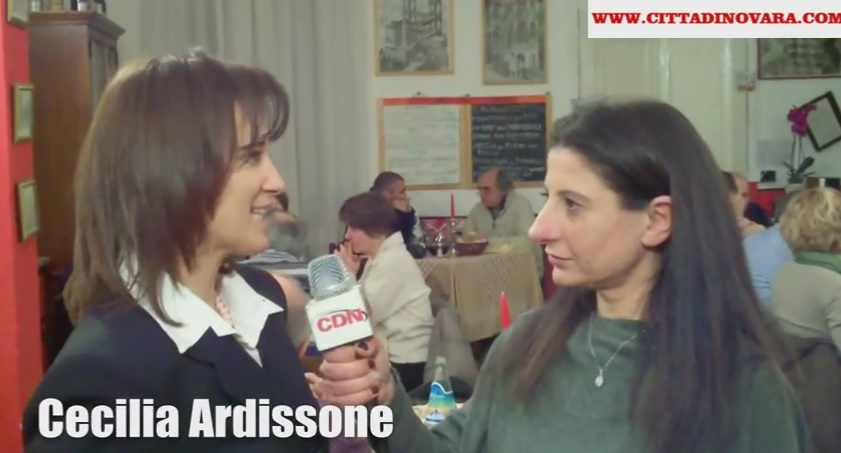Cecilia Ardissone e Marcella Bove alla Trattoria Tri Scalin Novara - San Gaudenzio 2015