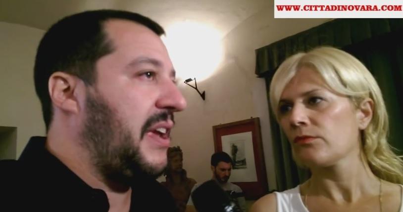 Matteo Salvini Novara