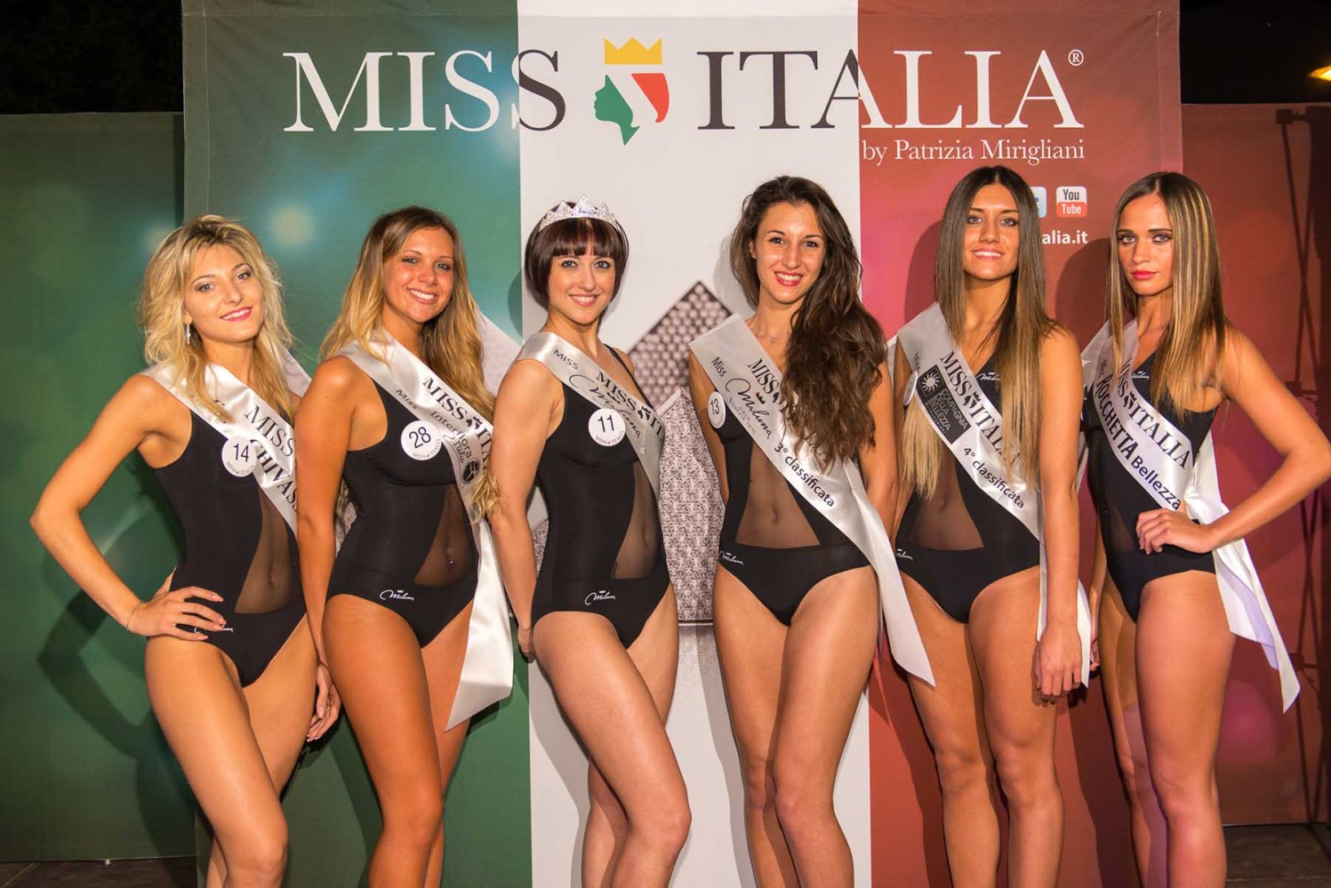 Veronica Bernasconi, Angelica Musazzo, Elisa Liistro, Federica Seglie, Sarah D'Agostino, Noemi Grosso