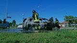 auto in fiamme novara (3)